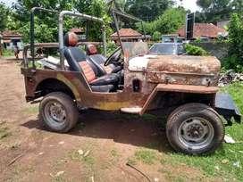 Mahindra cut chase jeep