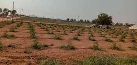 ~Small invest Plots for sale near Ramoji film city~
