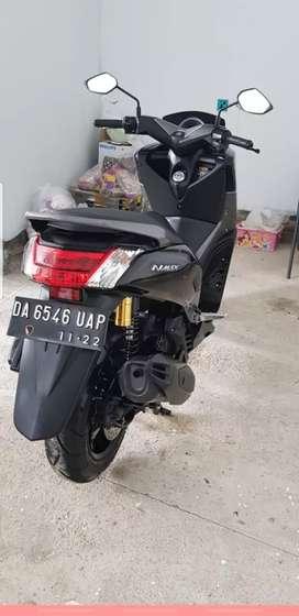 Yamaha Nmax - ABS type (Hitam Glossy) tahun 2017 km.7580