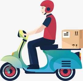 Fresher Hiring in Delivery Boy / Rider / Biker