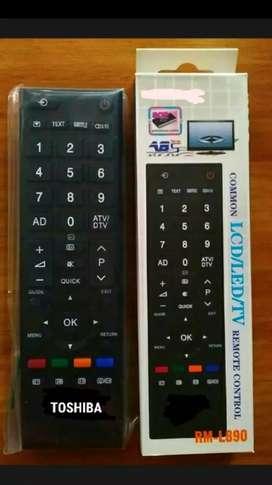 Remot tv toshiba smart tv/ led/ lcd