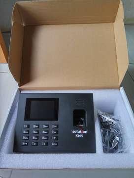 Absensi fingerprint dengan backup battery