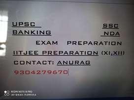 Banking, UPSC, SSC, IITJEE (Online class)
