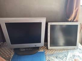 Two lcds for sale , good condition