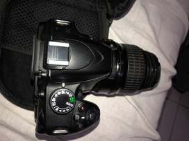 Nikon DSLR D3200 with 18/55lens