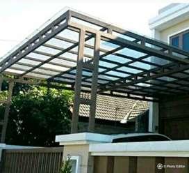 bengkel kita siap krjakn aneka pemasangn atap dn rangka kanopi rumahan
