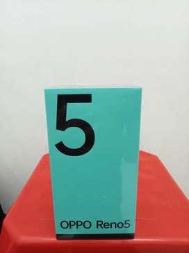 Oppo Reno 5 new garansi resmi