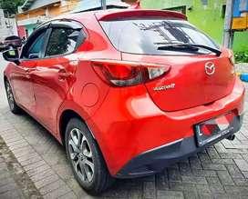 Mobil Mazda 2 GT Matic A/T 2017 KM 31rb Merah Plat L