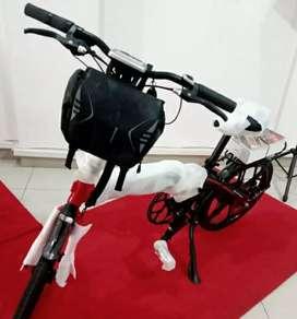Sepeda lipat elektrik SELIS (flash sale)