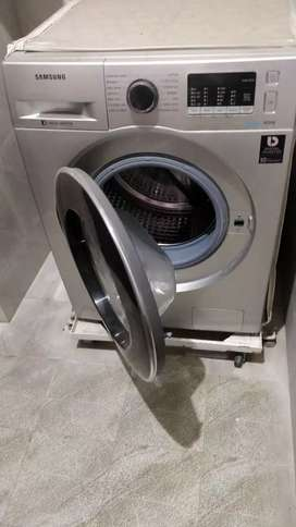 Samsung eco bubble 8kg fully automatic front load silver