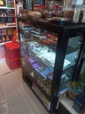 Glass display unit for sale