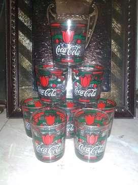Gelas Coca cola jadul