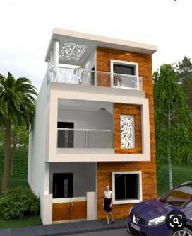 Independent new garden face luxury bungalow for sale near Vijay Nagar