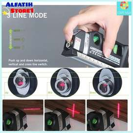 Taffware Fixit Level Pro3 Awet Penggaris Laser Waterpas Laser 250cm