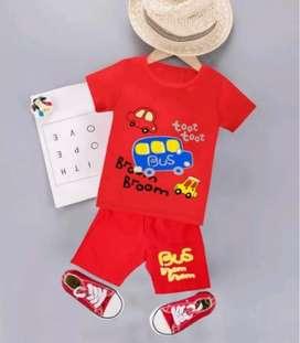 Baju pakaian setelan anak