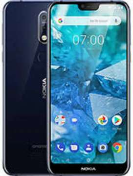 Nokia 7.1 5 months old .4 and 64 no crack no issue