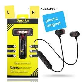 Sports Magnet Bluetooth Earphones For All Smartphones