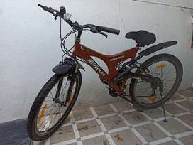 Rajkot ma Hercules Roadeo 21 Shimano Gear Bicycle with Jumper.