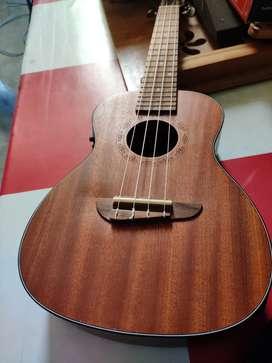 Branded Heartz ukulele with pickup