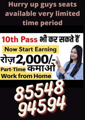 Offers Data entry part time jobs for freshers JOIN NOW!!