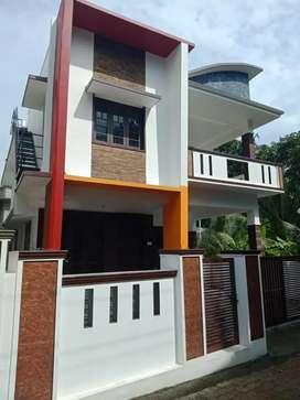 4 cent 1800 sqft 3 bhk new build house at kalamassery  near kombara