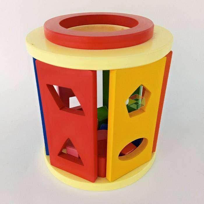 Sorting Box Mainan Edukasi Anak Montessori TK PAUD 0