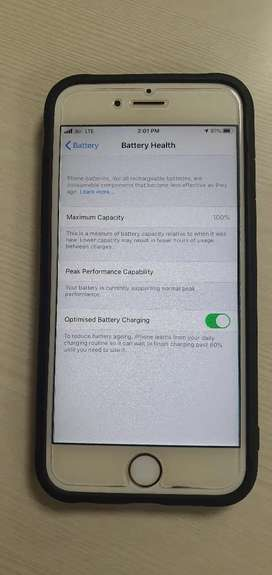Iphone 6s Battery Health : 100%