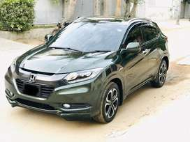 Honda Vezel Military Green