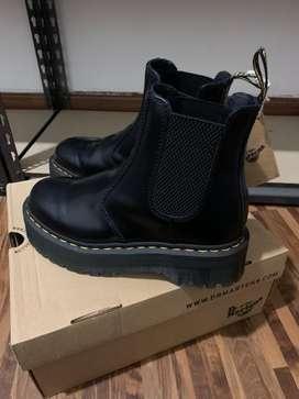 Original Dr martens 2976 Platform Leather Chelsea Boots