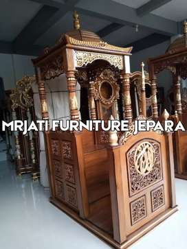 Jual mimbar masjid dan mimbar musholla gratis ongkir new produck