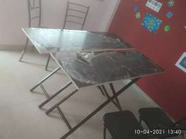 Good condition folding tables for selling
