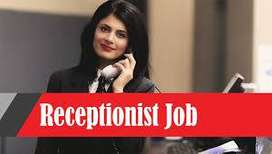 Required a girl receptionist for a reputed computer institute