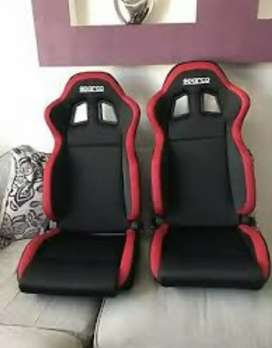 sparco seats for all cars..