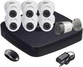 7HD CCTV Camera free installation