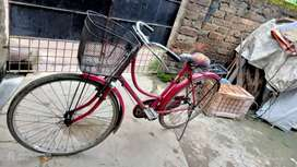 Hero ladies cycle new price 6999.only 1 years 6 monthold.