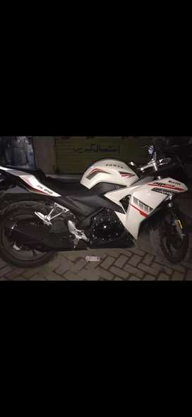 super power sultan 250cc well condition white colour