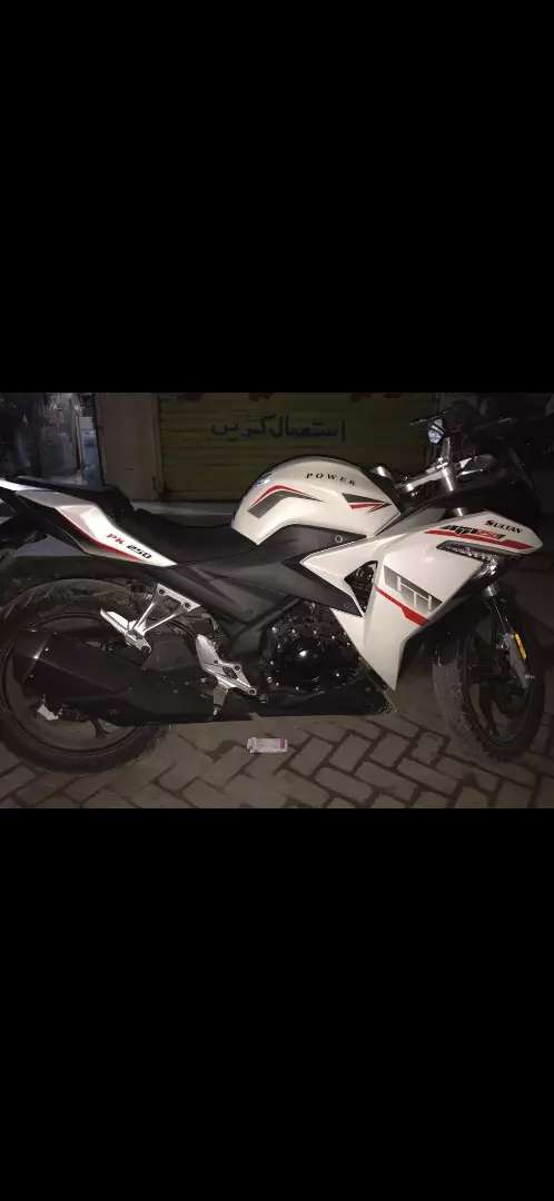 super power sultan 250cc well condition white colour 0