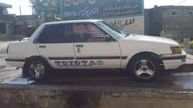 86 corolla sale at good condition.