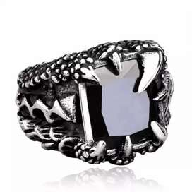 Dragon Claw Punk Rings For men