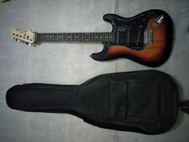Sell my new electric guitar