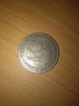 Uang koin Rp 100 1978