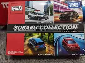 Tomica gift set Subaru