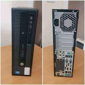HP 800 g1 I3 4TH GEN 8 GBR RAM 1TB HDD DVD  WARRNATY