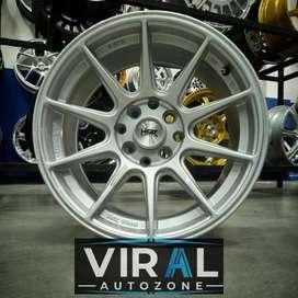 Velg Mobil Racing Ring 15 HSR Shinjuku Lebar 7/8 Mobilio City Mazda2