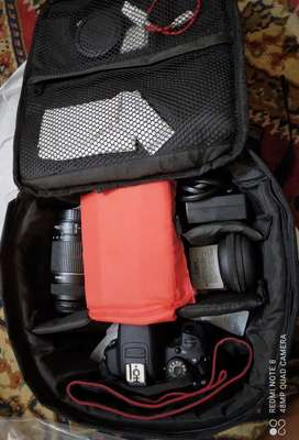 CANON EOS 700D / EOS T5i DSLR Camera with 2lens bag charged