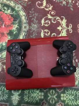 PS 3 SUPER SLIM RED 500GB