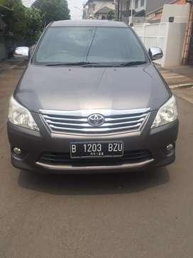 Toyota Innova 2012 type G/matic