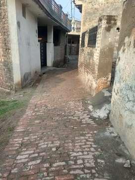 170 gaj house in Shamdoo village 1 km from Chandigarh Patiala highway