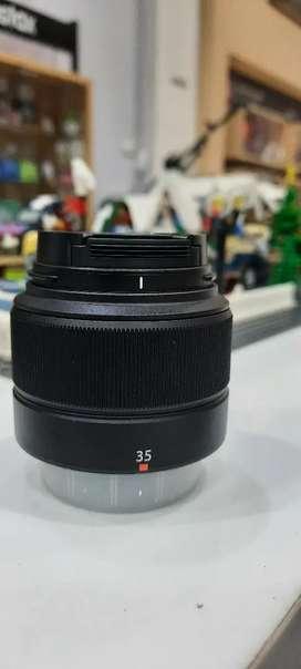 Fujinon lensa fujifilm xc35 f2
