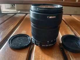 Canon EF-S 18-135 lensa sapu jagad